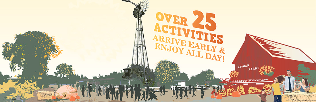 Arrive Early & Stay All Day - Over 25 Activities
