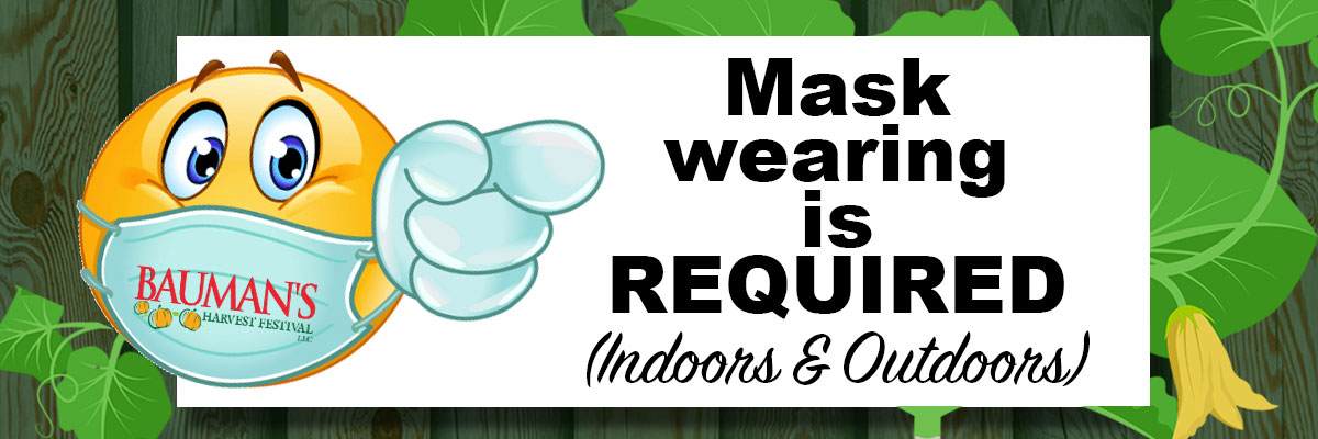 Mask Wearing is Required