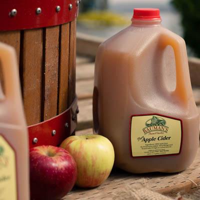 Bauman Apple Cider Sampling